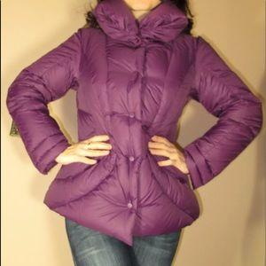 🆕 Marina Rinaldi Goose Down Puffer Coat Purple
